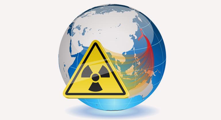 Fotolia.com | tuulijumala | Japan hatte sogar großes Glück im Unglück, dass die radioaktive Wolke aufs Meer trieb und insbesondere den Großraum Tokio verschonte.