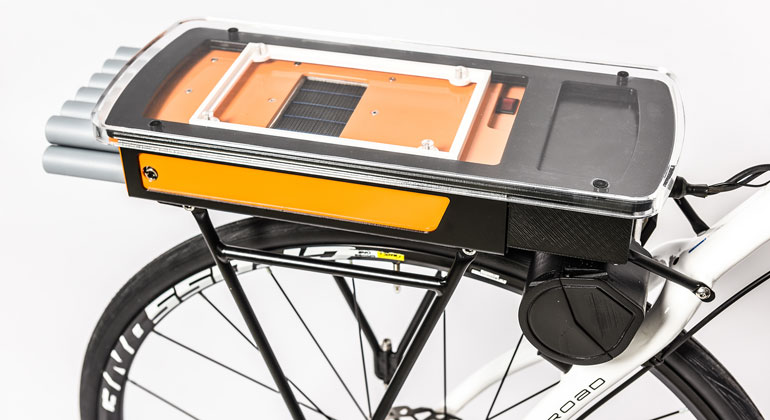 LiteFCBike: Lightweight Fuel Cell System replaces Battery