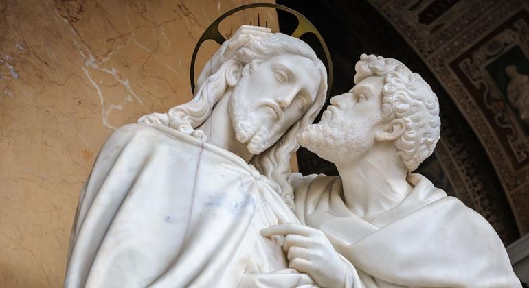 Depositphotos | starush | Die Lateranbasilika, italienisch Basilica San Giovanni in Laterano, ist die Kathedrale des Bistums Rom, eine der sieben Pilgerkirchen und eine der fünf Papstbasiliken Roms. Dort findet sich der Kuss des Judas.