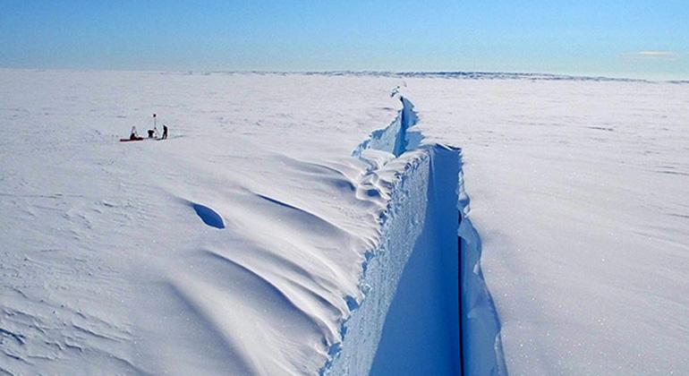 Northumbria University | British Antarctic Survey | The Halloween Crack