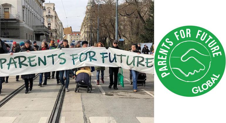 Parents for Future   Parent For Future bei der Demo am 15.3. in Wien