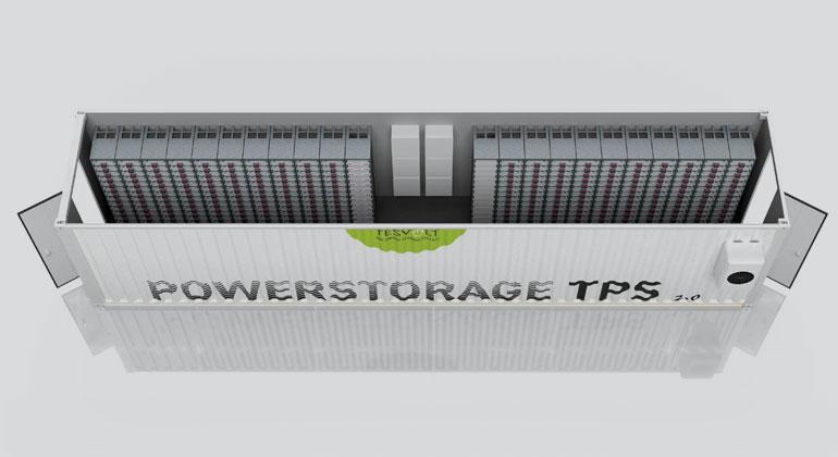 Tesvolt | Tesvolt Megawatt-Containerspeicher TPS 2.0