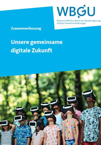 wbgu.de | Ohne aktive politische Gestaltung wird der digitale Wandel den Ressourcen- und Energieverbrauch sowie die Schädigung von Umwelt und Klima weiter beschleunigen. Daher ist es eine vordringliche politische Aufgabe Bedingungen dafür zu schaffen, die Digitalisierung in den Dienst nachhaltiger Entwicklung zu stellen, so eine der zentralen Botschaften des Berichts.