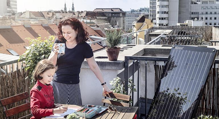 simon.energy | Sauberer Strom vom eigenen Balkon