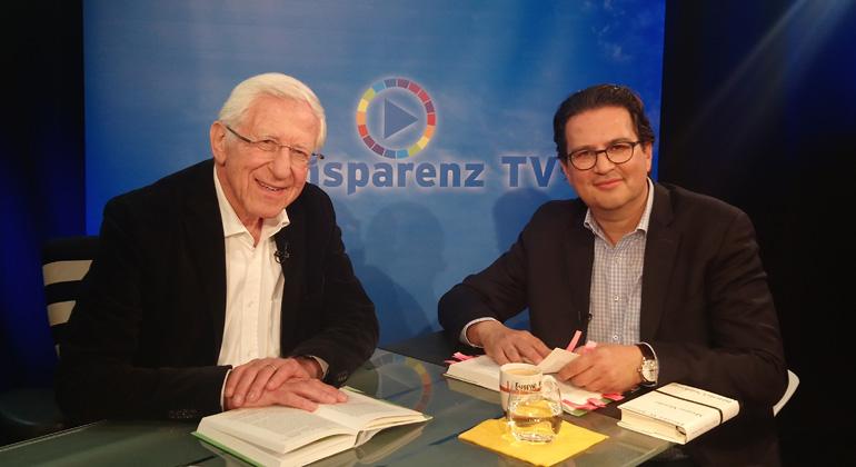 Bigi Alt | Franz Alt und Frank Farenski von Transparenz TV