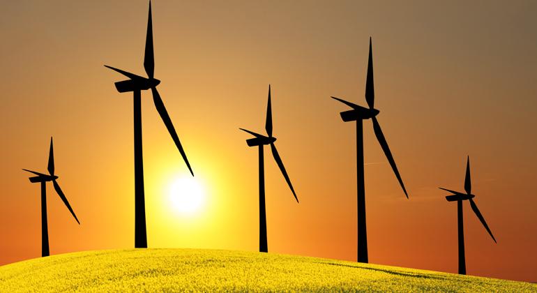 Wirtschaftsaufschwung mit Windkraft in Europa