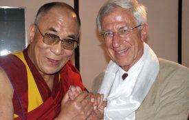 Bigi Alt | Der Dalai Lama mit dem Journalisten Franz Alt.