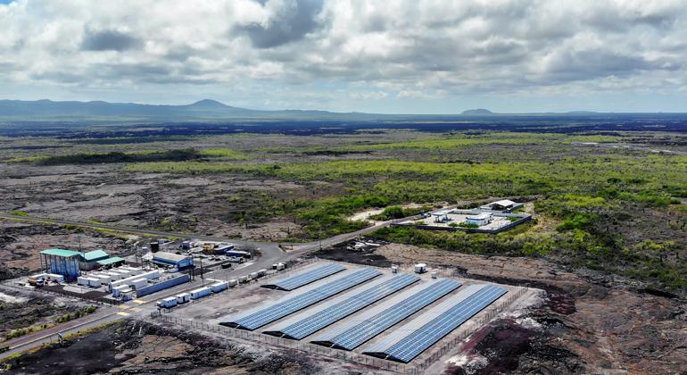 Siemens   Siemens stellt Erneuerbare Energien auf Galapagos zur Verfügung