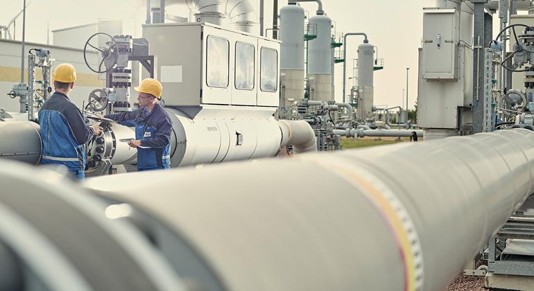 VNG Gasspeicher GmbH | Gasdruckmess- und Regelstrecke Bad Lauchstädt