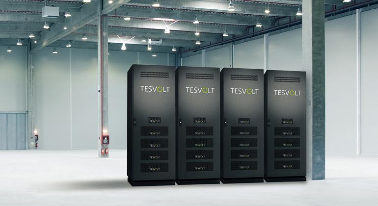 Tesvolt   Tesvolt produziert Stromspeicher für Gewerbe und Industrie