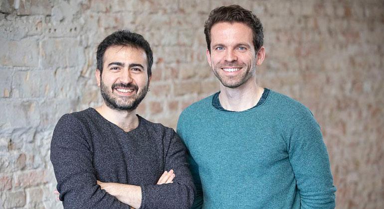 Entrepreneur First   cirplus.io   Die Gründer von cirplus: Volkan Bilici (CTO) und Christian Schiller (CEO)