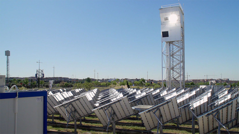 DLR   ARTTIC   Christophe Ramage   Solaranlage SUN-to-LIQUID zur Herstellung von Kerosin.