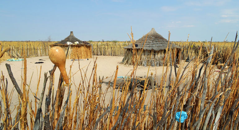 ISOE   Traditional household in the rural area of Northern Namibia