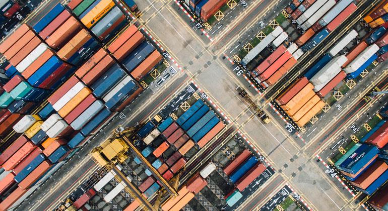 pixabay.com | StockSnap | Container sind das Symbol des globalisierten Freihandels. Künftig werden noch mehr davon zwischen Europa und Südamerika unterwegs sein.