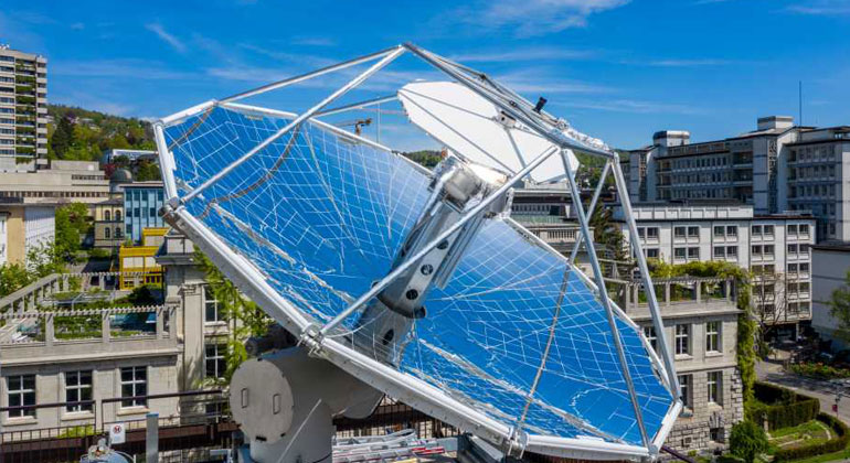 ETH Zürich / Alessandro Della Bella | Die Forschungsanlage steht auf dem Dach des ETH-Gebäudes an der Sonneggstrasse.