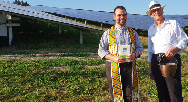 MaxSolar GmbH | Solarpark-Eröffnung