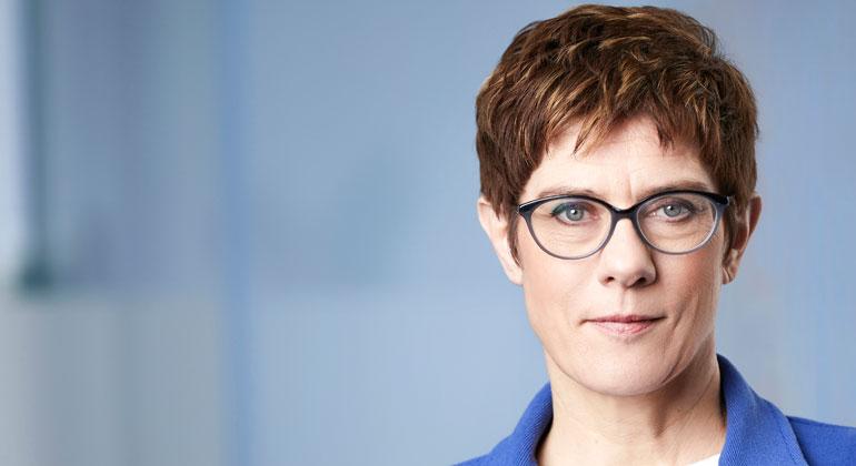 CDU | LaurenceChaperon | CDU-Parteivorsitzende Annegret Kramp-Karrenbauer