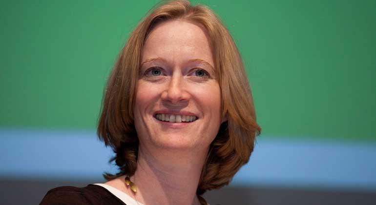 WikimediaCommons| Eva Häberle | Kerstin Andreae hat sich als Wirtschaftspolitikerin über die Partei hinaus einen Namen gemacht.
