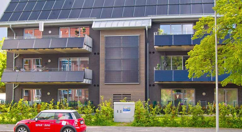 Mehrfamilienhaus mit Energieflatrate