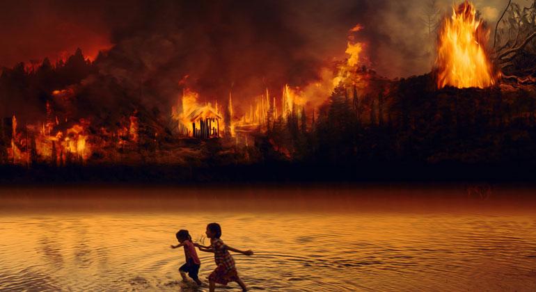 Unser Haus brennt – Klimawandel live