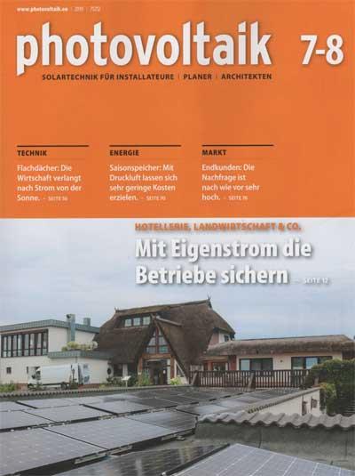 photovoltaik.eu | photovoltaik 7-8 / 2019