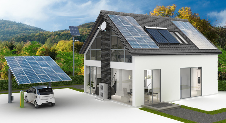 Elektromobilität stimuliert den PV- und Speicherzubau in privaten Haushalten
