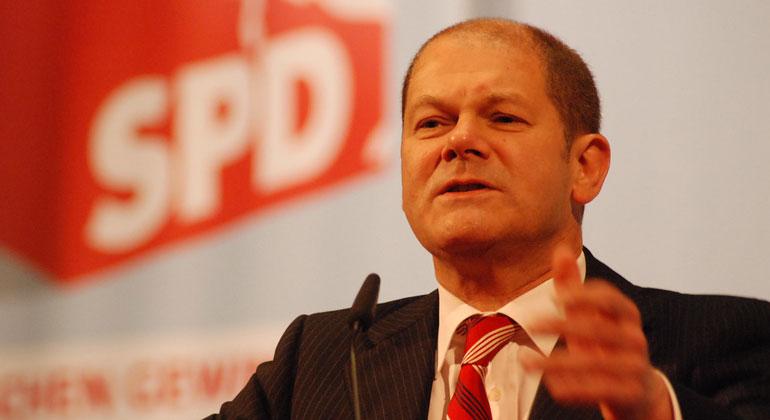 SPD Niedersachsen/Flickr | Finanzminister Olaf Scholz muss noch mal umplanen.