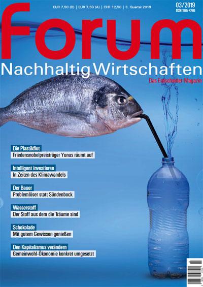 forum 03/2019 | Social Business beseitigt Plastik-Müll und schafft neue Jobs