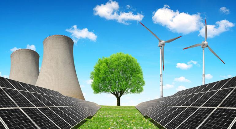 Fotolia.com | vencav | 2018 trugen erneuerbare Energien nur in drei Monaten mehr zur Nettostromerzeugung bei als Kohle, Öl und Gas.