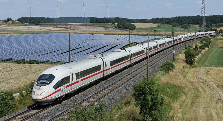 Deutsche Bahn will 500 Gigawattstunden Grünstrom einkaufen