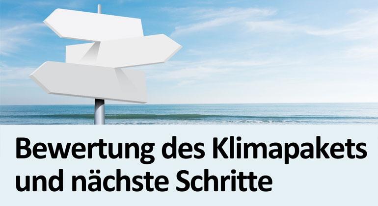 PIK und MCC liefern detaillierte Einschätzung des deutschen Klimapakets