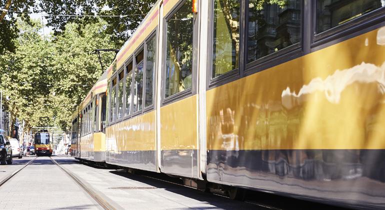 KIT: Autonome Straßenbahn im Depot