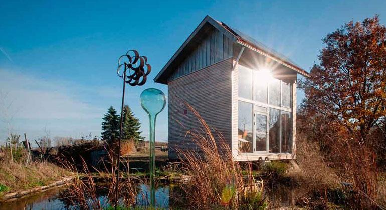 Axel Ewen | Tiny House dreht sich zur Sonne