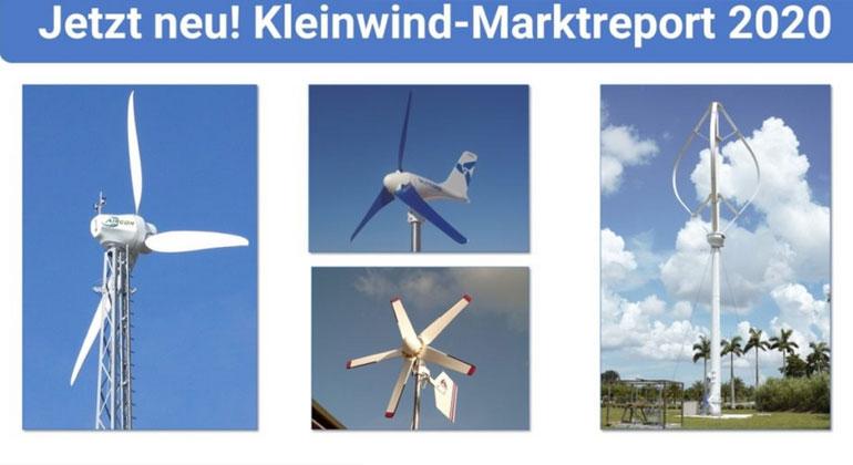 Kleinwind-Marktreport 2020: Empfehlenswerte Windanlagen für Gewerbe und Privat