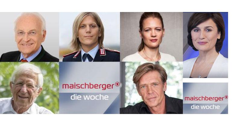 Die Gäste: Edmund Stoiber, Anastasia Biefang, Anna von Bayern (oben v.l.n.r.); Franz Alt, Hajo Schumacher (unten v.l.n.r.) | Bild: CSU; Bundeswehr (Sebastian Wilke); Axel Springer (Benjamin Zübner); dpa; Schumacher