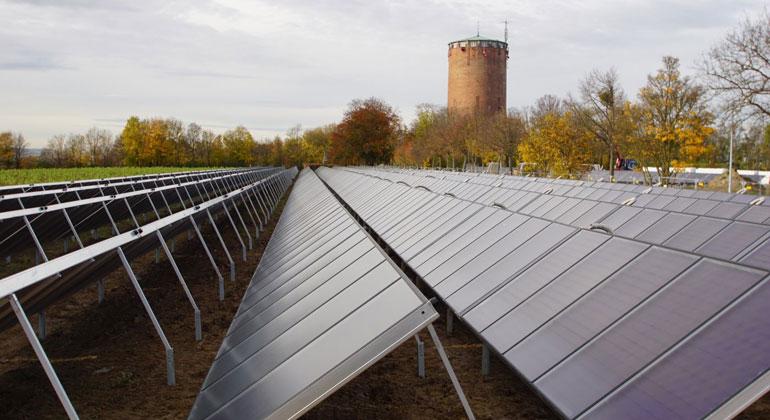 Stadtwerke entdecken die Solarthermie
