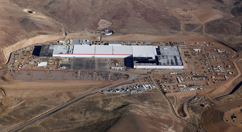 Tesla | Tesla betreibt in den USA bereits zwei Gigawatt-Fabriken. Die erste in Europa soll nahe Berlin entstehen.