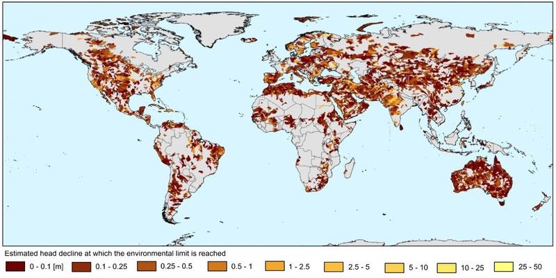 Inge de Graaf | Wasserknappheit durch Grundwasserentnahme ist ein alarmierender globaler Trend.