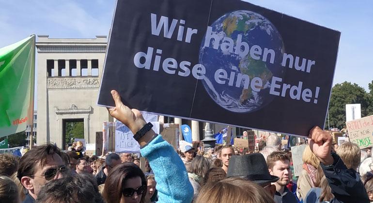 #FridaysForFuture Demo in München