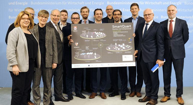 """Erstes Reallabor der Energiewende """"Smart Quart"""" erhält Förderbescheid"""