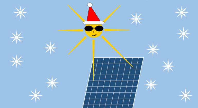 Weihnachten anders: Solarenergie zu verschenken