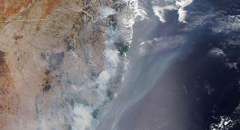 Australiens Waldbrände verursachen massive CO2-Emissionen