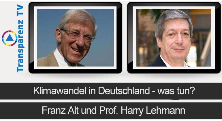 Franz Alt und Prof. Harry Lehmann (Foto: Steffen Proske)