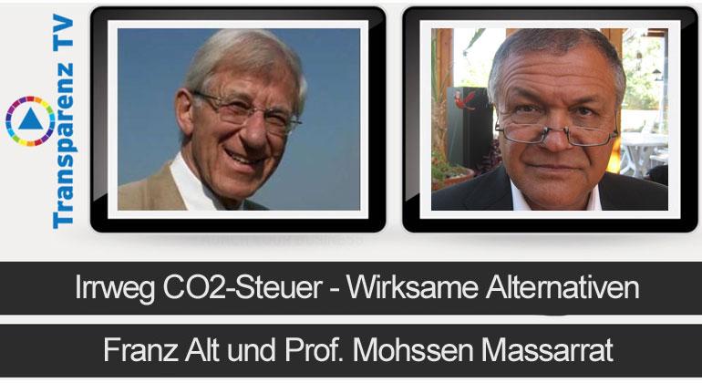Franz Alt: Irrweg CO2-Steuer – Wirksame Alternativen
