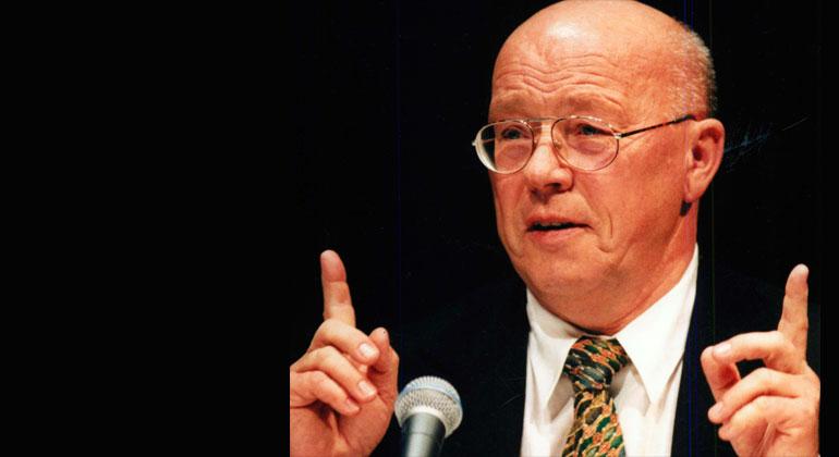 Udo E. Simonis 2019 ist Professor Emeritus für Umweltpolitik am Wissenschaftszentrum Berlin (WZB)