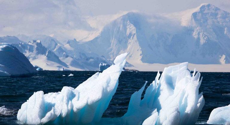 Das feine Gesicht der Antarktis