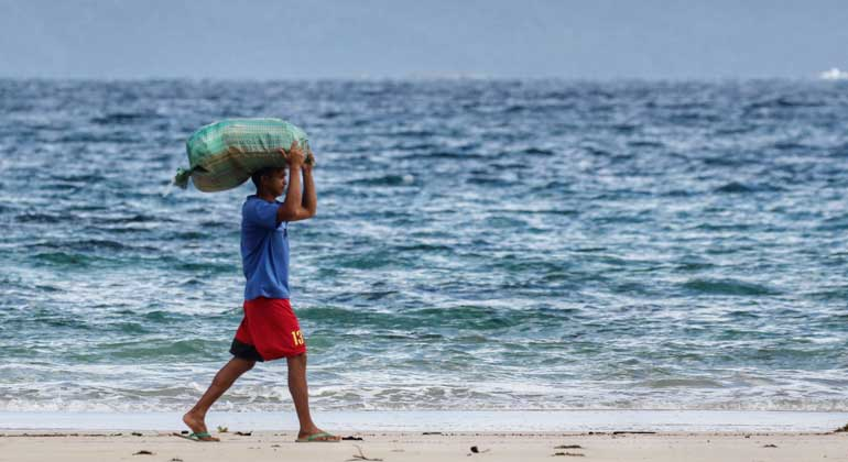 english.cas.cn | ZHU Jiang | Ocean warming poses a threat to food security and people's livelihoods.