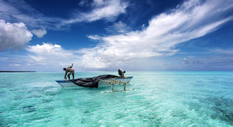 Depositphotos | paulistano | Die Erwärmung der Ozeane stellt eine Bedrohung für die Ernährungssicherheit und die Lebensgrundlagen der Menschen dar.