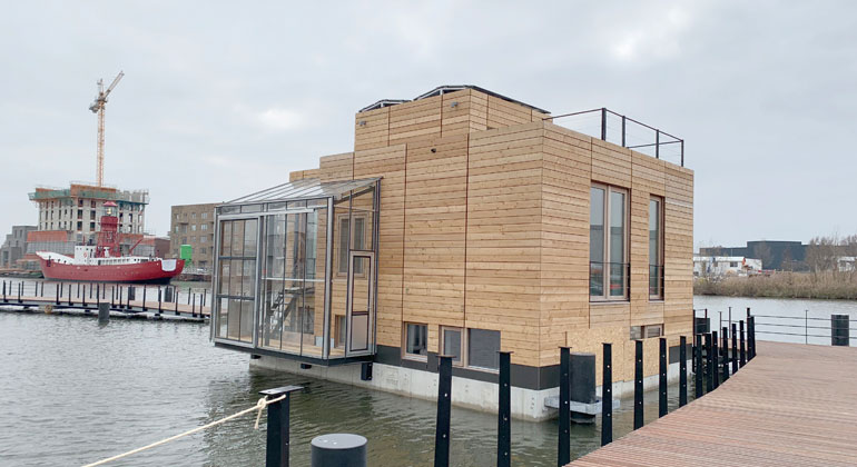Fraunhofer ITWM | One of the first houses to be anchored.