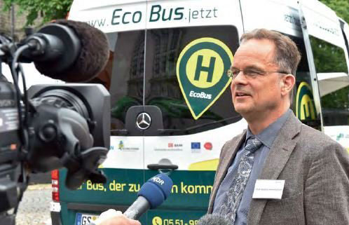 MPIDS | Stephan Herminghaus und die Idee des Ridesharings: Menschen teilen sich nicht ein Auto wie beim Carsharing, sondern eine Fahrt.
